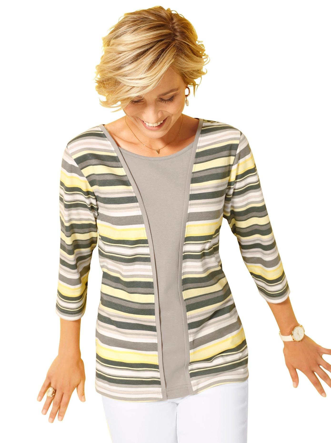 Classic Basics shirt in 2-in-1-look voordelig en veilig online kopen