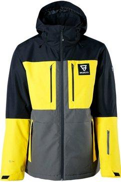 brunotti ski-jack »aracin« zwart