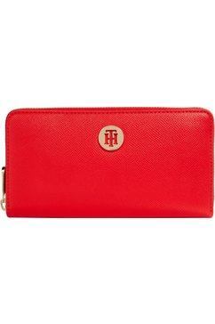 tommy hilfiger portemonnee met praktische indeling rood