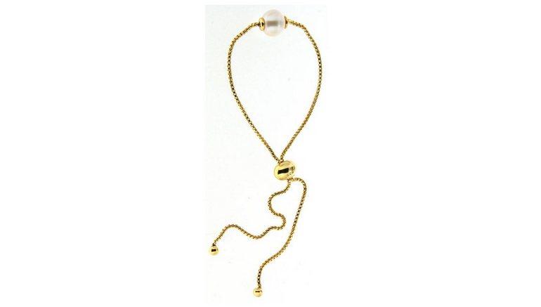 Firetti zilveren armband »in Venezianerkettengliederung, vergoldet, massiv, rund, feminin, zeitlos«