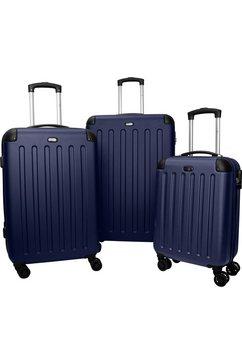 travel pal trolleyset austin (3-delig) blauw