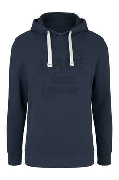 tom tailor hoodie blauw