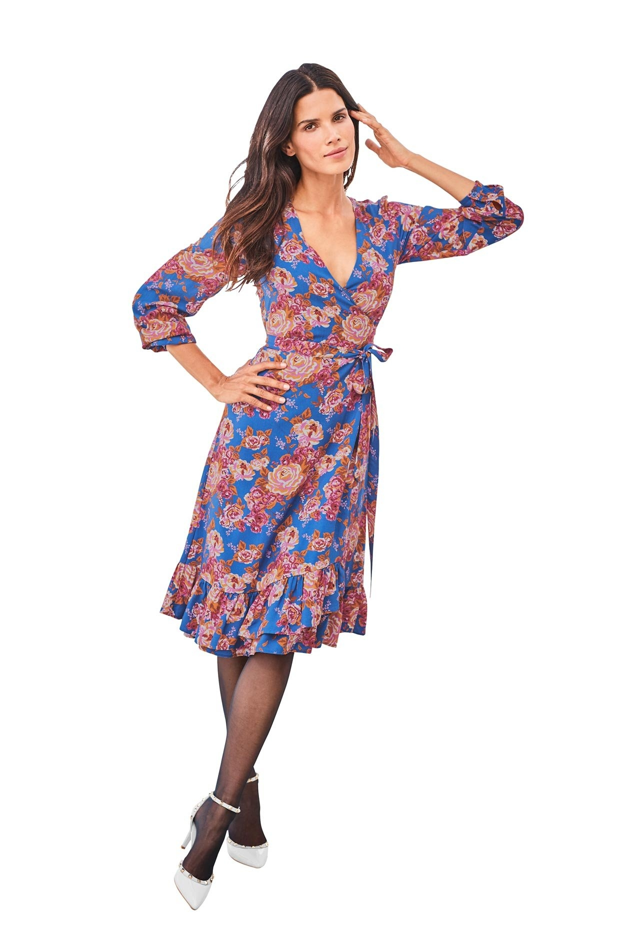 ASHLEY BROOKE by Heine gedessineerde jurk voordelig en veilig online kopen