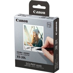 canon »druck-set xs-20l« fotopapier wit