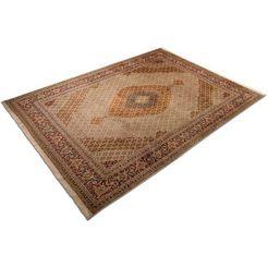 morgenland vloerkleed taebriz 70 raj teppich handgeknuepft braun handgeknoopt bruin