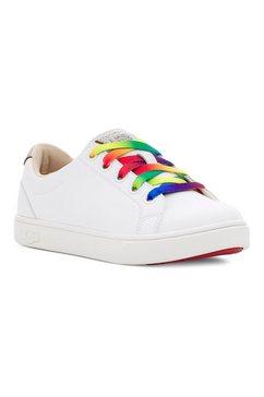 ugg sneakers zilo met kleurrijke veters wit
