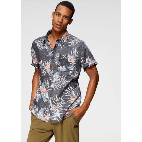 Quiksilver hawaï-overhemd BLACK PARADISE EXPRESS