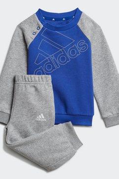 adidas performance joggingpak i bl fl jog (set, 2-delig) grijs