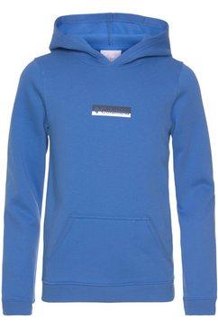 columbia hoodie blauw