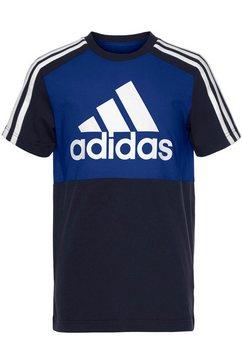 adidas performance t-shirt blauw