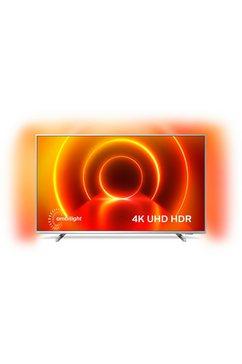 """philips led-tv 50pus8105-12, 126 cm - 50 """", 4k ultra hd, smart-tv, 3-zijdige ambilght zilver"""