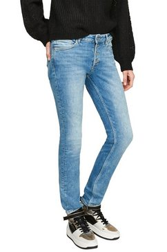 q-s designed by slim fit jeans blauw