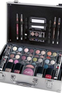 zmile cosmetics make-upkoffer (51 delig) rood