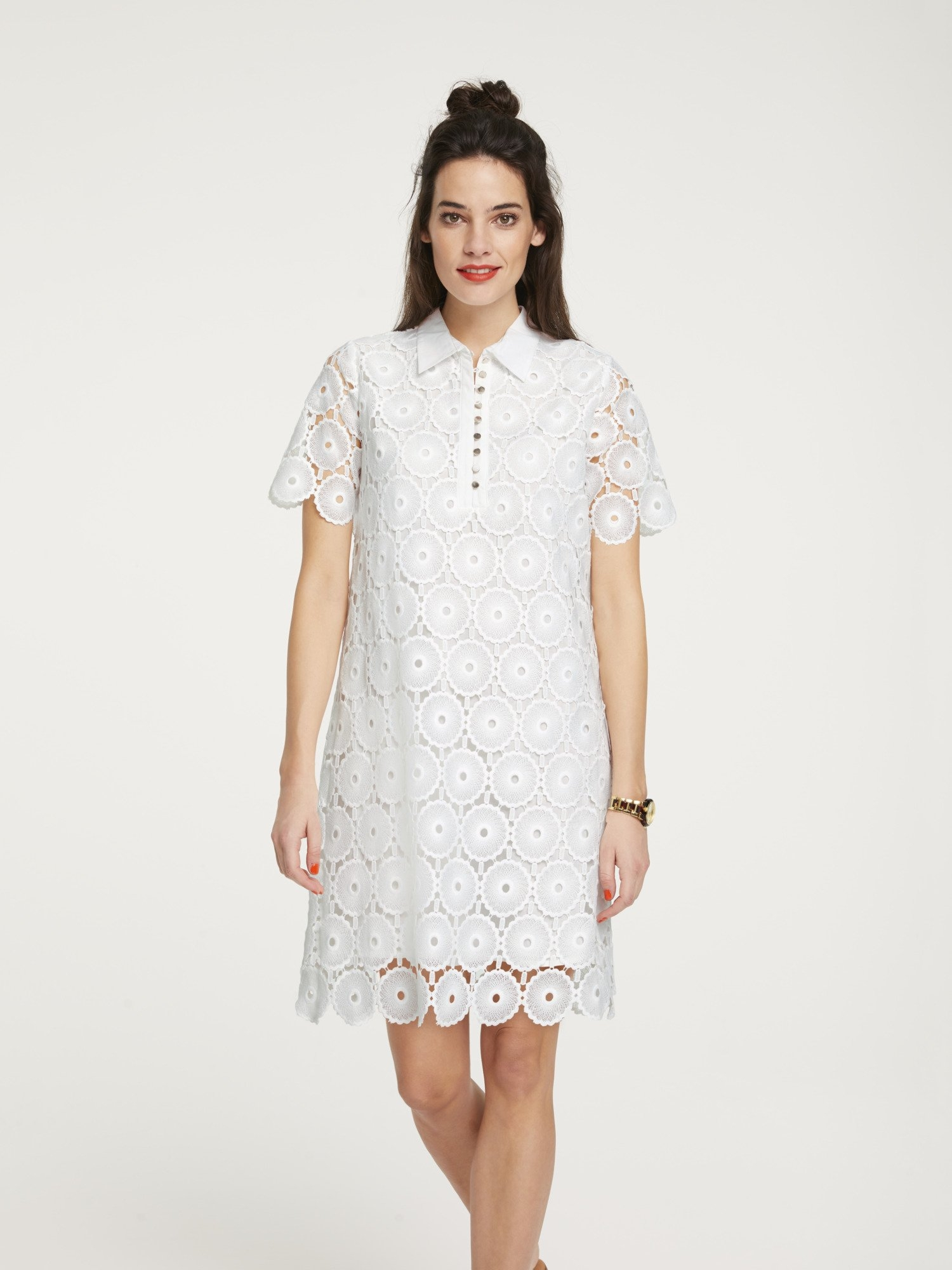 LINEA TESINI by Heine Kanten jurk nu online kopen bij OTTO