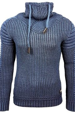 rusty neal pullover blauw