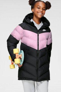 nike gewatteerde jas »nike sportswear fill jacket« zwart