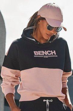 bench. hoodie met logoprint zwart