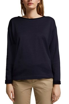 esprit sweatshirt blauw