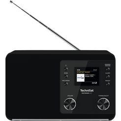 technisat digitale radio (dab+) 307 zwart