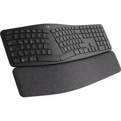 logitech »ergo k860« ergonomisch toetsenbord zwart