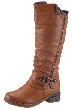 rieker laarzen met tex-membraan bruin