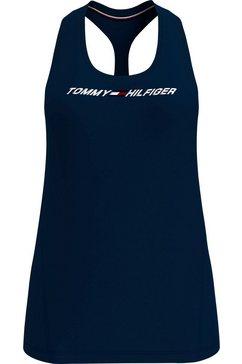 tommy sport sporttop »regular r-nk graphic tank« blauw
