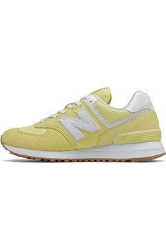 new balance sneakers wl574 geel