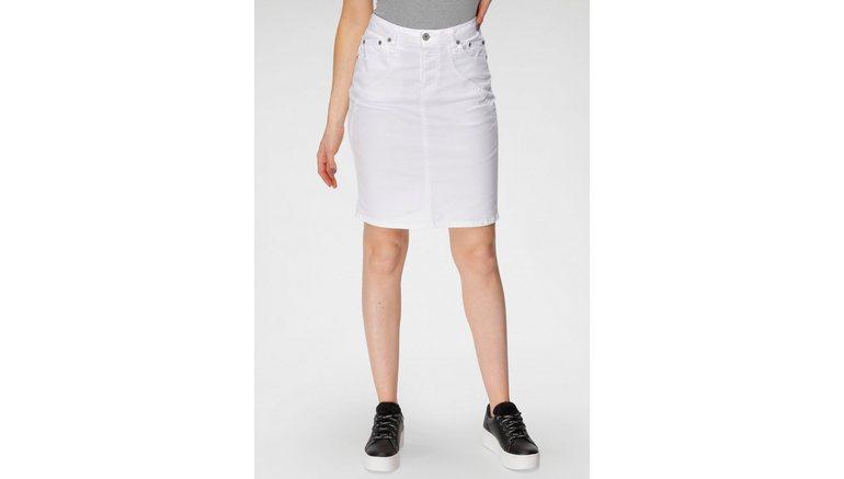 Please Jeans jeansrok G 747 All White Trend