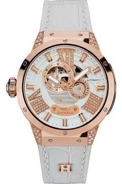 haemmer germany automatisch horloge »white light, gl-400-w« wit