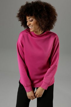 aniston selected sweatshirt roze
