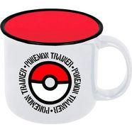 beker pokemon mok trainer pokeball (400 ml) wit