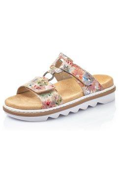 rieker slippers multicolor