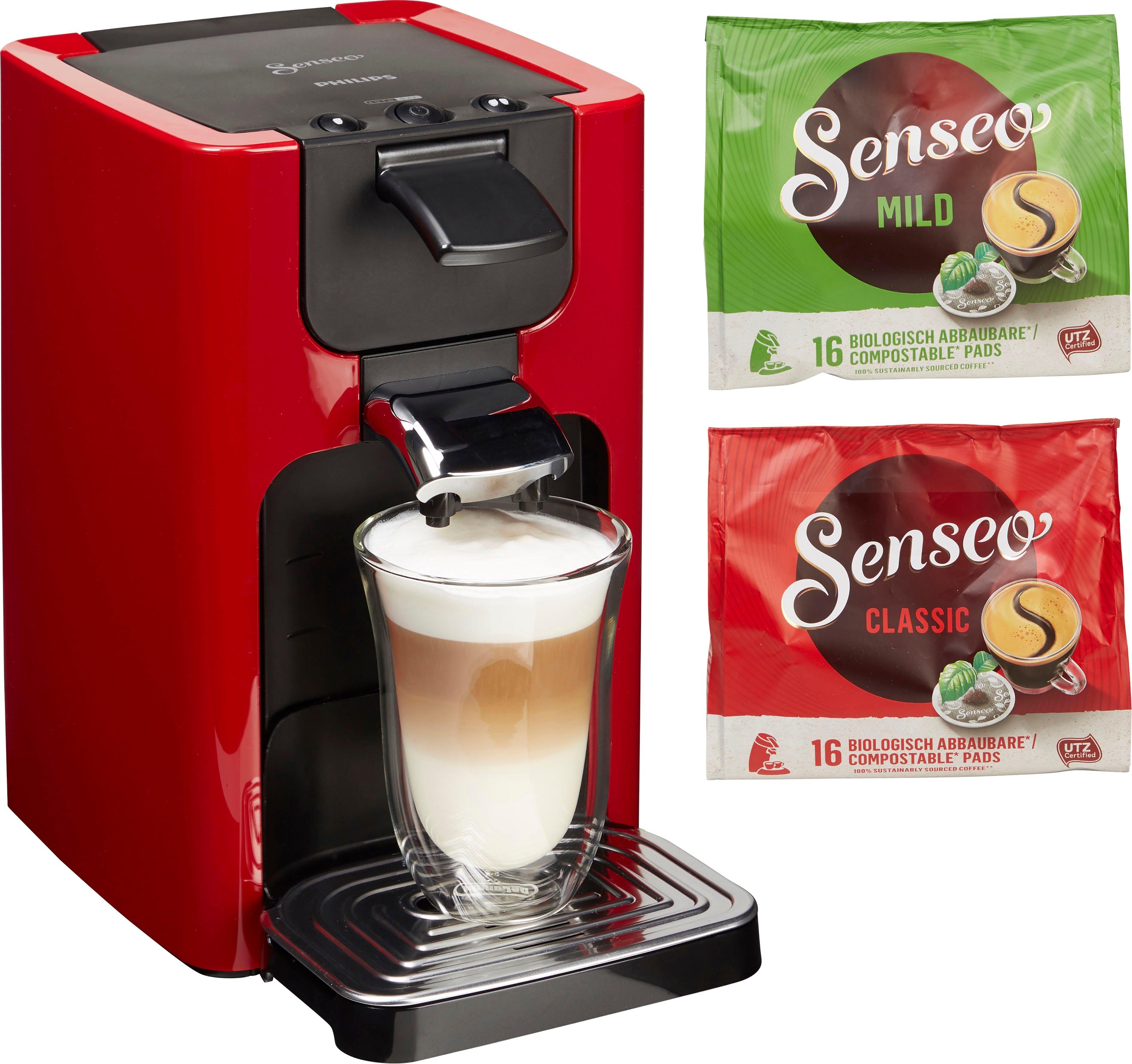 Senseo -koffiepadautomaat HD7865/00 Quadrante, met Coffee Boost, XL waterreservoir, wit voordelig en veilig online kopen