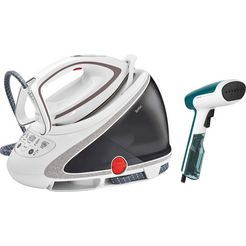 tefal stoomstrijksysteem gv9567 pro express ultimate, 1900 ml, 2600 watt wit