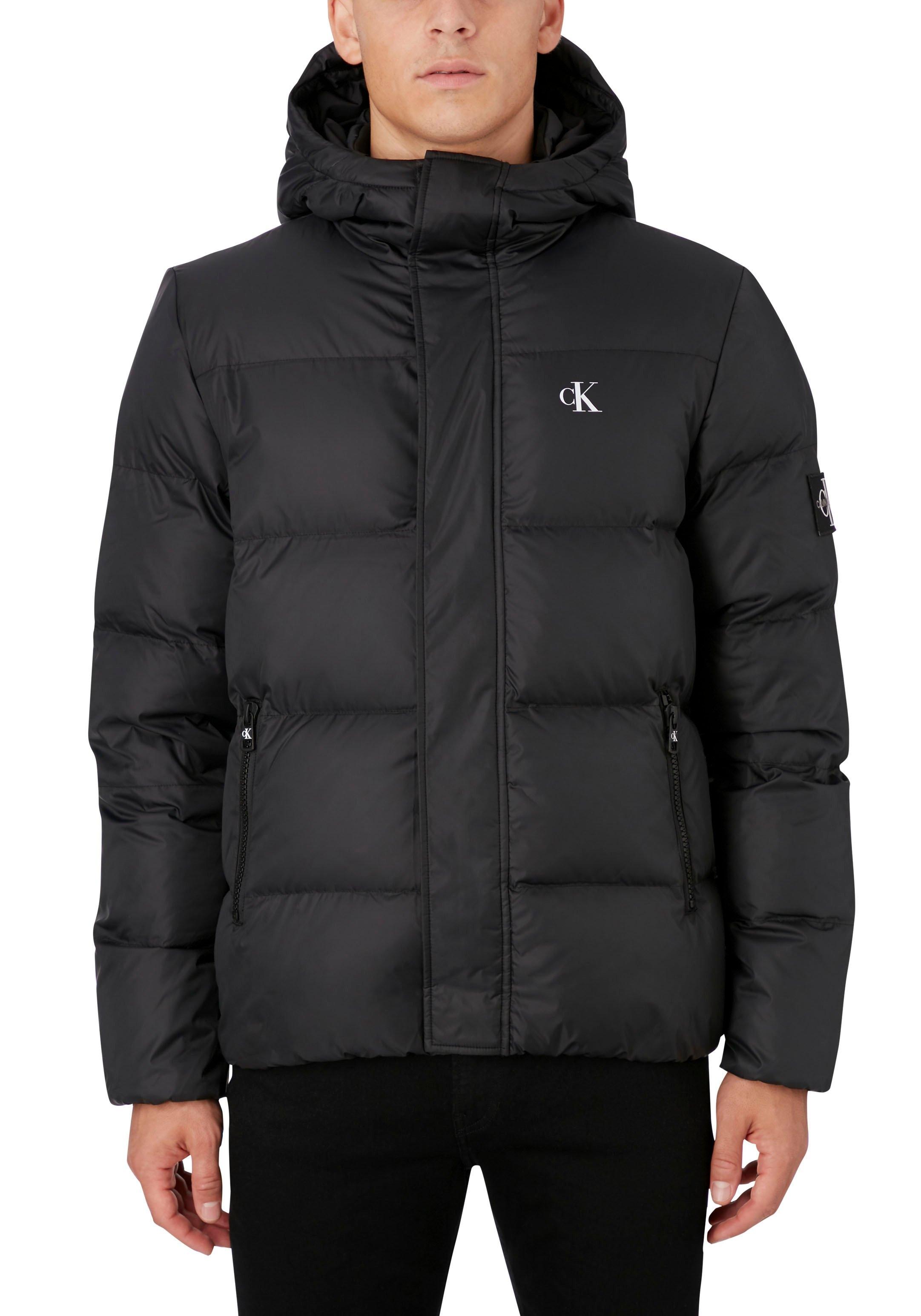 Calvin Klein gewatteerde jas HOODED PUFFER JACKET nu online kopen bij OTTO