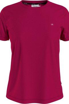 calvin klein shirt met ronde hals small ck c-neck top