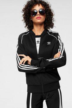 adidas originals trainingsjack zwart