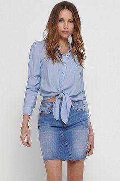 only overhemdblouse blauw