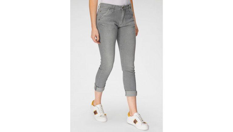 Please Jeans boyfriendjeans P 85A met klassieke knoopsluiting