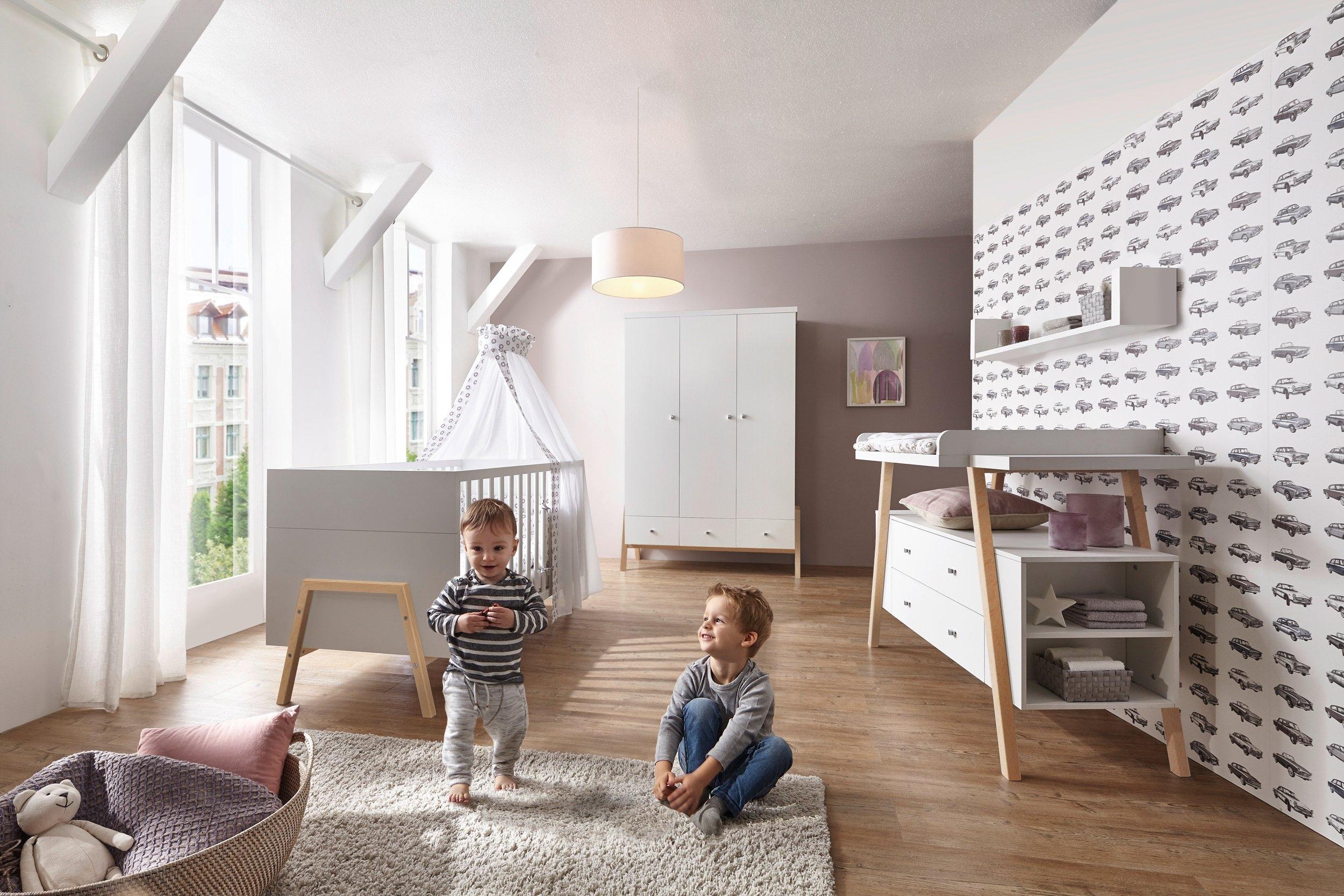Schardt complete babykamerset Holly Nature Made in Germany; met kinderbed, kast en commode (set, 3 stuks) online kopen op otto.nl