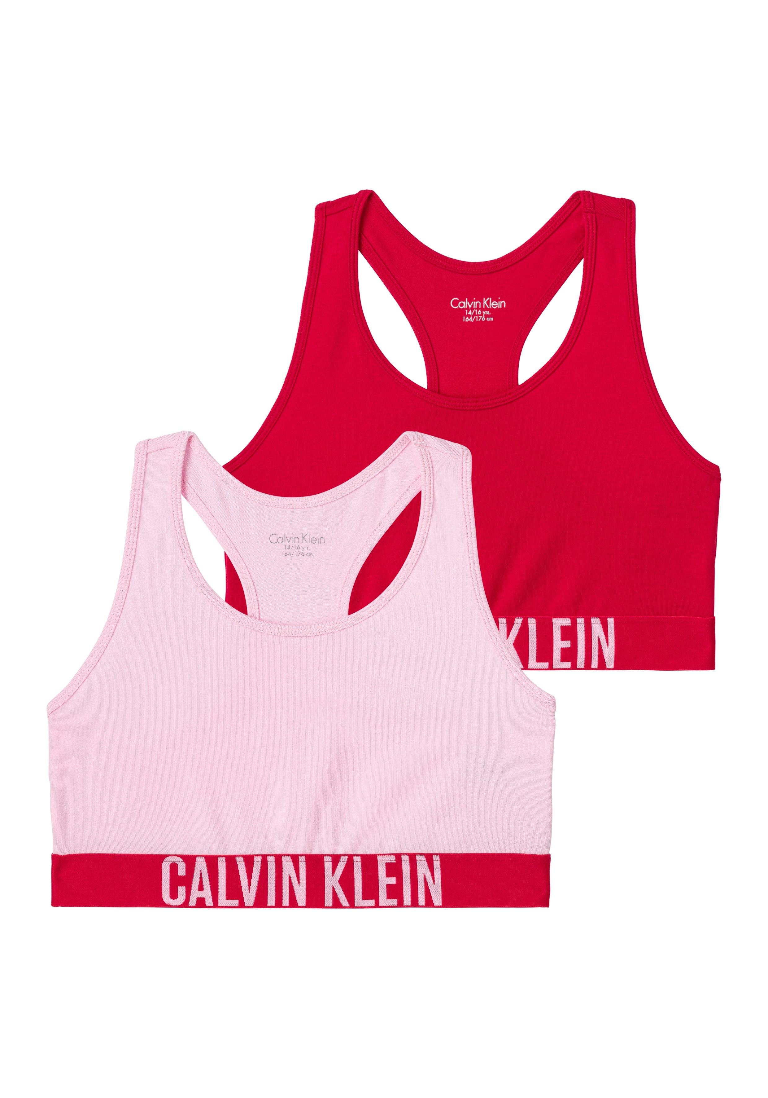 Calvin Klein bustier Meisje met logo weefband + racerback (Set van 2) voordelig en veilig online kopen