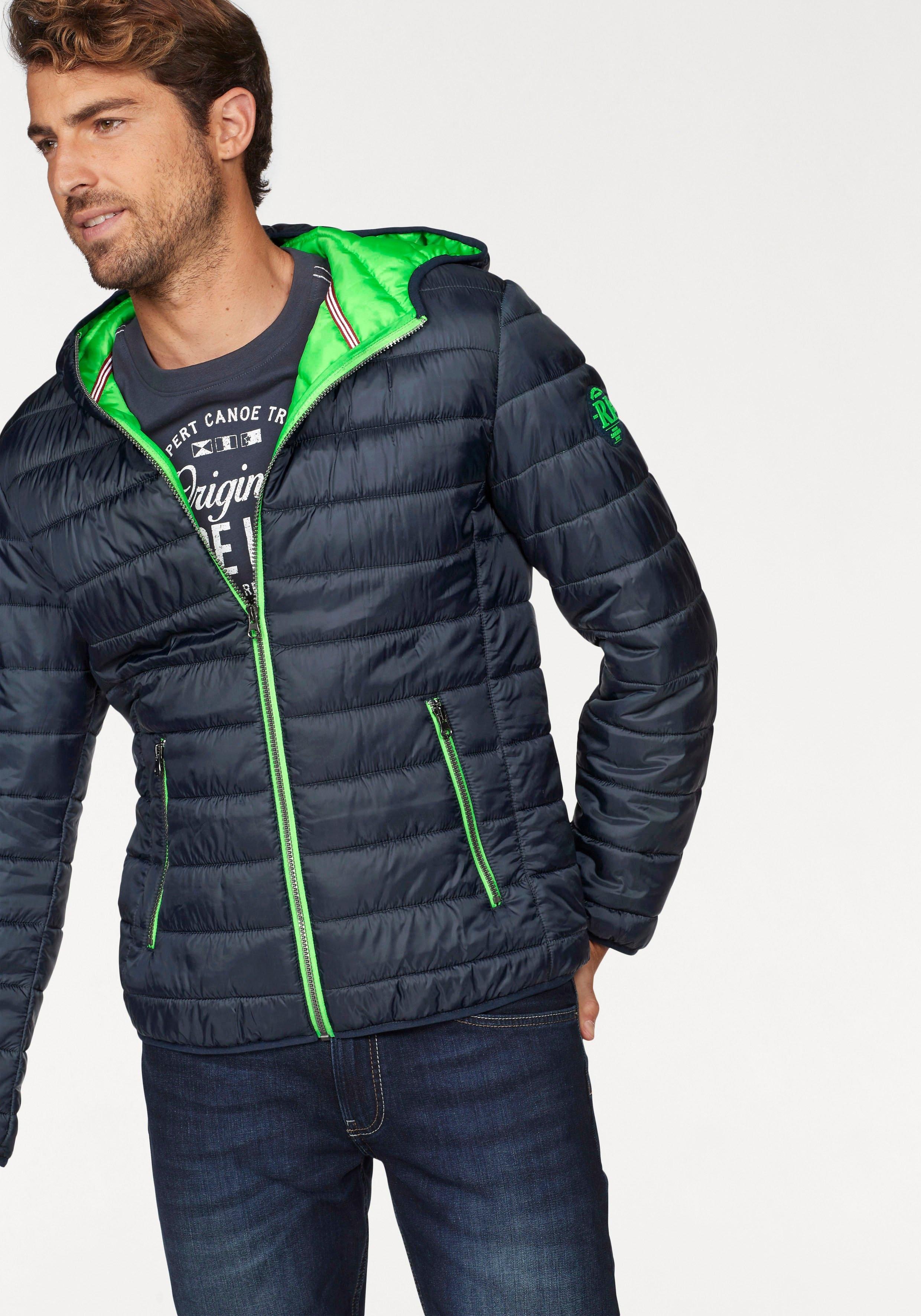 Rhode Island gewatteerde jas met kleurcontrasten bij OTTO online kopen