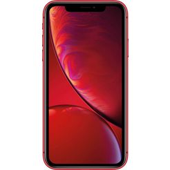 apple iphone xr 64gb smartphone (15,49 cm - 6,1 inch, 64 gb, 12 mp camera) rood