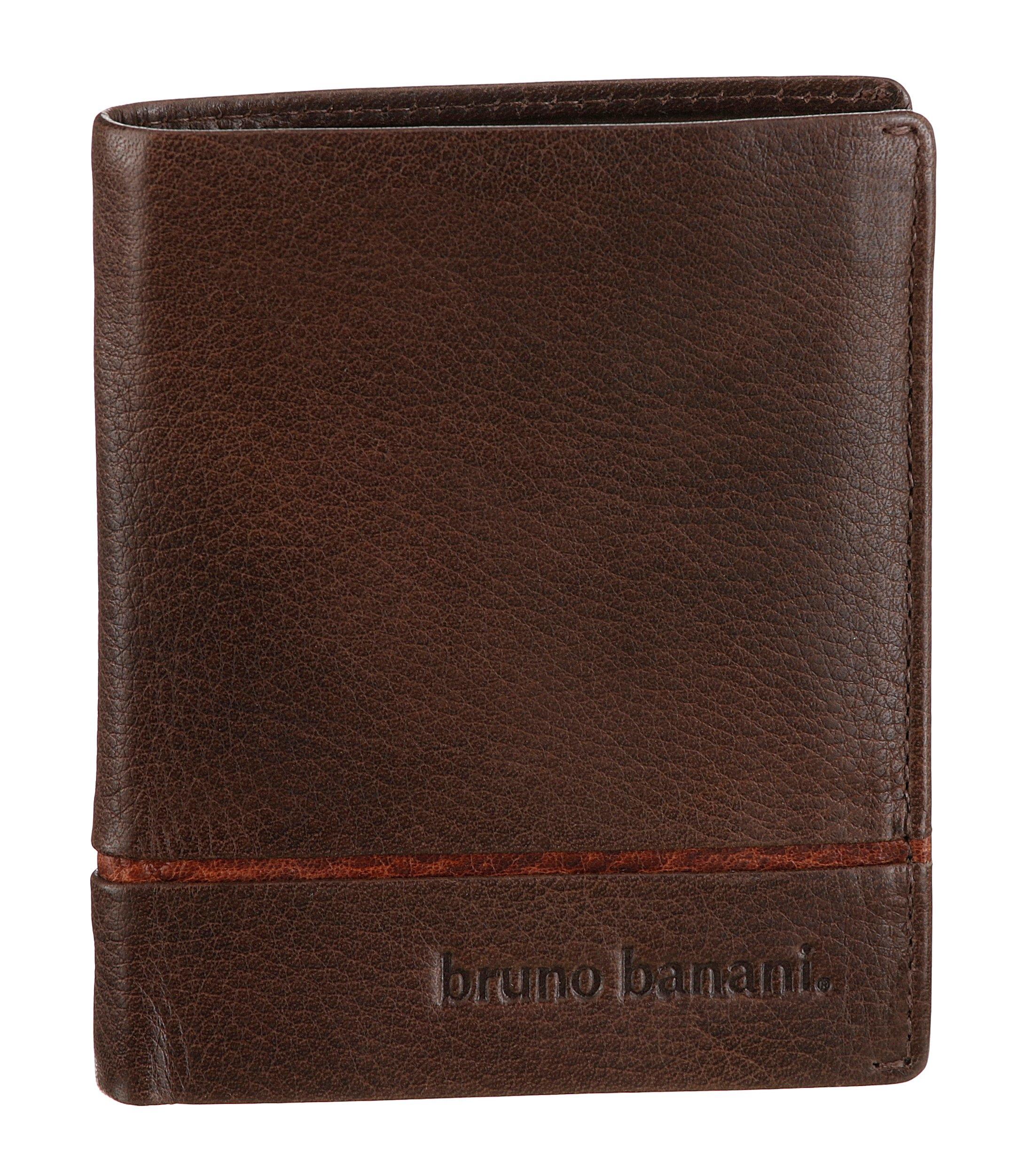 Bruno Banani Portemonnee van leer in lengteformaat online kopen op otto.nl