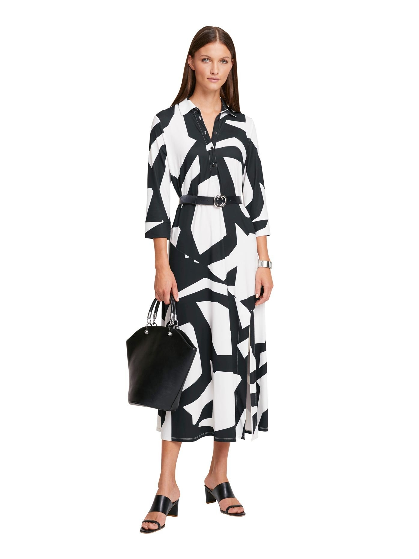 RICK CARDONA by Heine gedessineerde jurk voordelig en veilig online kopen
