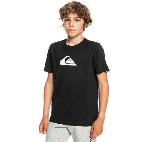 NU 20% KORTING: Quiksilver T-shirt COMP LOGO SS