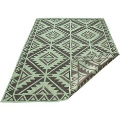 my home vloerkleed »timea« groen