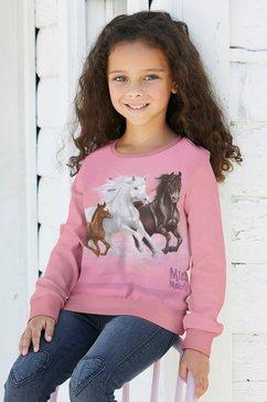 miss melody lang sweatshirt voor paardenliefhebbers roze