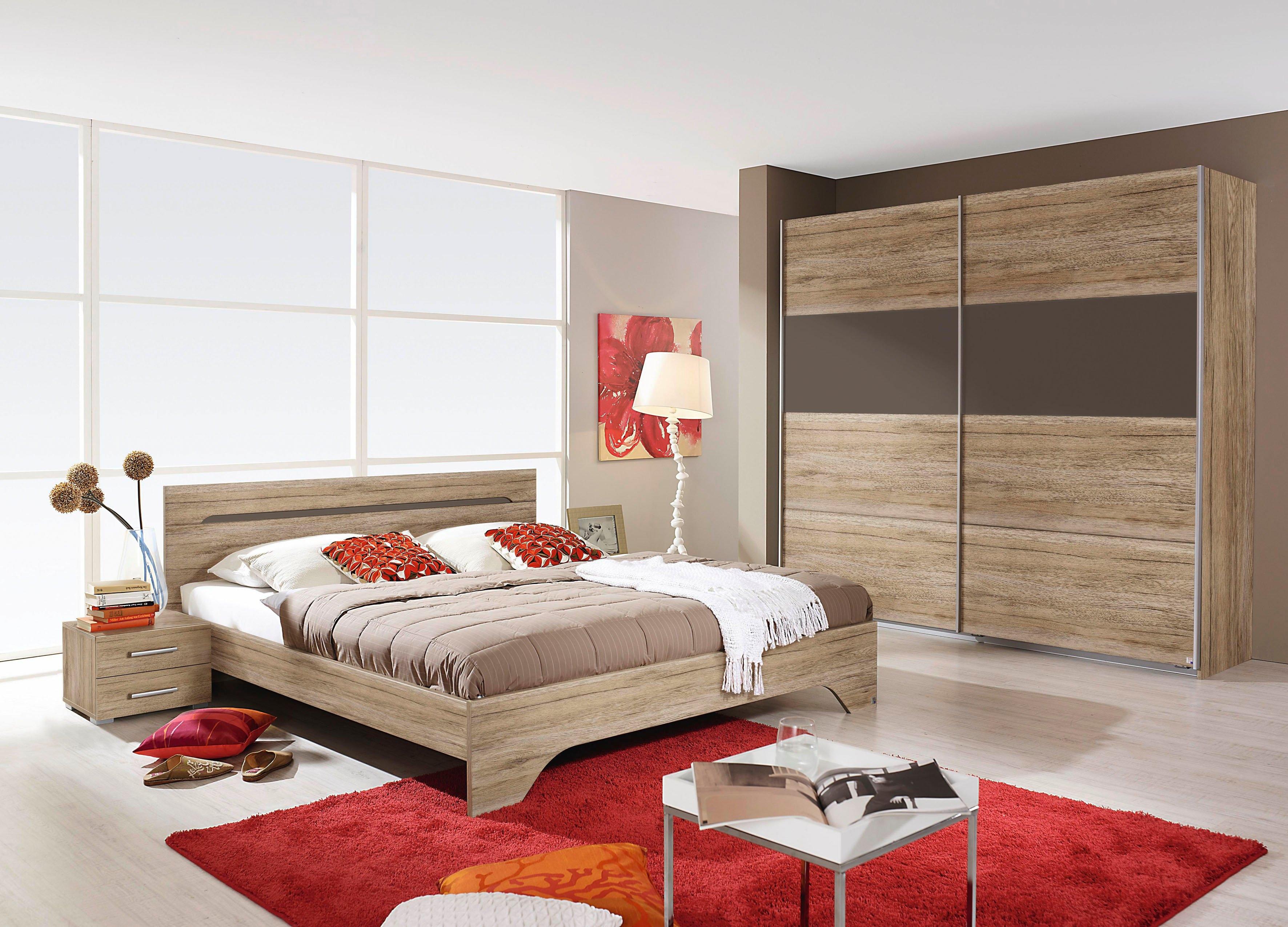 Rauch SELECT slaapkamerserie Rubi met kast, bed 180x200 cm en 2 nachtkastjes (set, 4 stuks) in de webshop van OTTO kopen