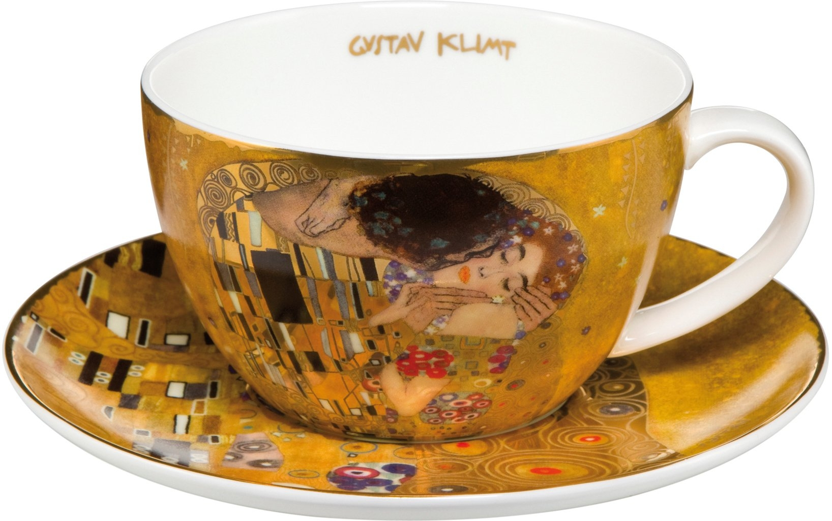 Goebel cappuccinokopje De kus goudkleur voordelig en veilig online kopen